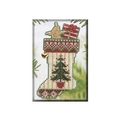 Julesok med juletræ