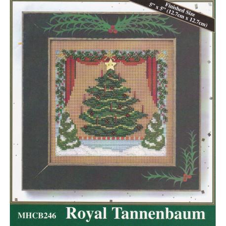 Juletræ i vindue