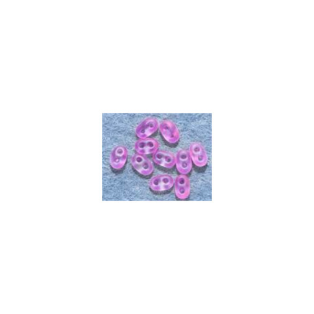 Twinbeads nr 19 neon rosa