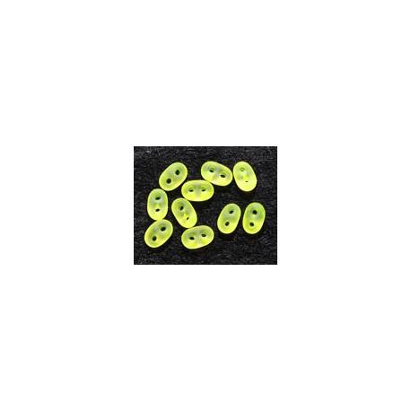 Twinbeads nr 22 neon gul