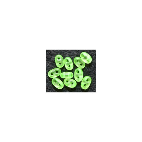 Twinbeads nr 25 neon grøn