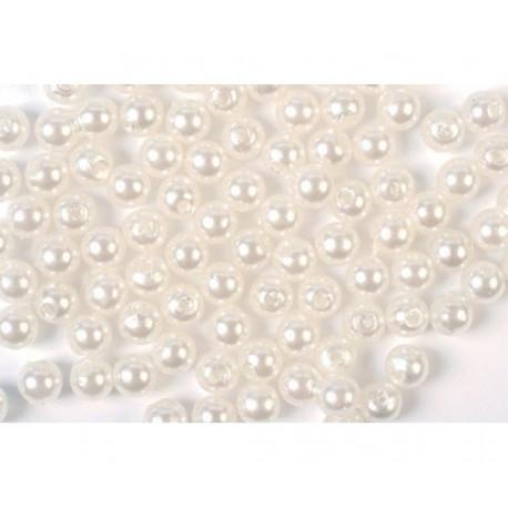 3 mm hvid voks perler