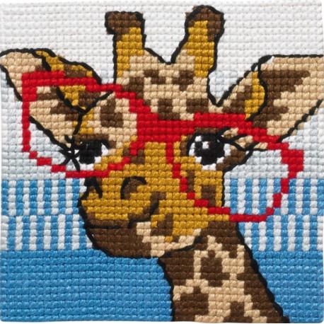 Børnestramaj giraf