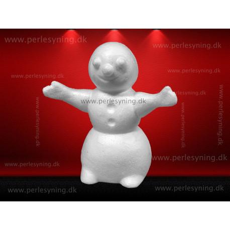17 cm snemand med strakte arme