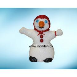 N1708 Snemand med tørklæde