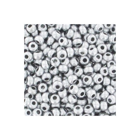 9/0 sølv perle 10 gram  Roc-090