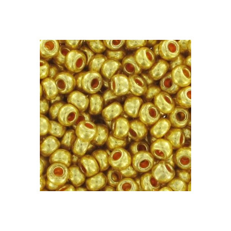 9/0 Guld perle 10 gram ROC-162
