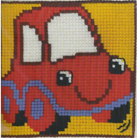 Børnestramaj rød bil