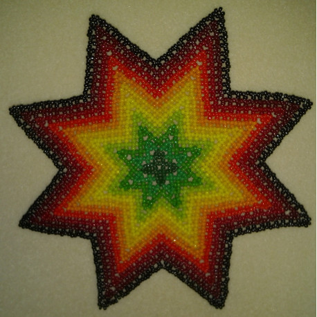 Begynder perlepakning N1 stjernedug ca 16 cm