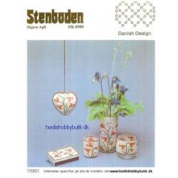 Perleopskrift nr 3 1987 Stenboden -brugt-
