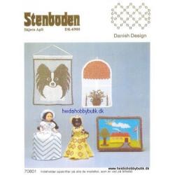 Perleopskrift nr 8 1987 Stenboden - Brugt -