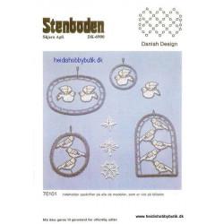 Perleopskrift nr 1 1987 Stenboden - Brugt -