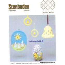Perleopskrift nr 5 1987 Stenboden -brugt-