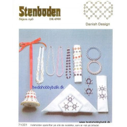 Perleopskrift nr 10 1987 Stenboden - Brugt -
