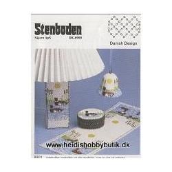 Perleopskrift nr 1 1989  Stenboden - Brugt -