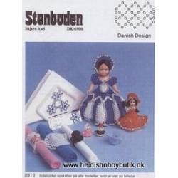 Perleopskrift nr 13  1989 Stenboden - Brugt -