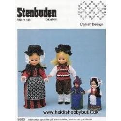 Perleopskrift  nr 3 1990 Stenboden - Brugt -