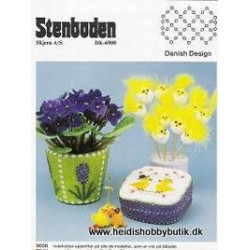 Perleopskrift nr 6 1990 Stenboden - Brugt -