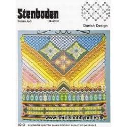 Perleopskrift nr 13 1990 Stenboden - Brugt -