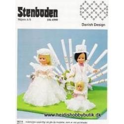 Perleopskrift nr 14  1990 Stenboden - Brugt -