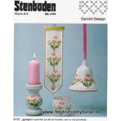 Perleopskrift nr 2  1991 Stenboden - BRUGT -