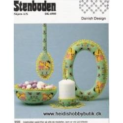 Perleopskrift nr 5  1991 Stenboden - BRUGT-