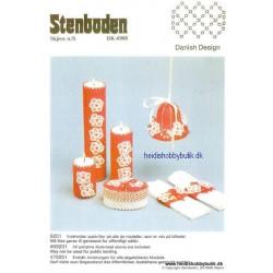 Perleopskrift nr 1  1992 Stenboden - Brugt -