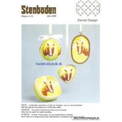 Perleopskrift nr 3  1992 Stenboden - Brugt -
