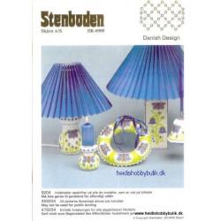 Perleopskrift nr 4 1992 Stenboden - Brugt -