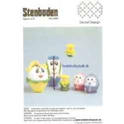 Perleopskrift nr 5 1992 Stenboden - Brugt -