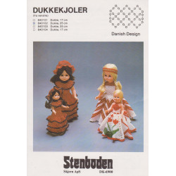 - Brugt - 1984  nr 0103 dukke 25 cm Stenboden