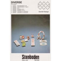 - Brugt - 1984  nr 840503 perlekurv 4,5 cm Stenboden