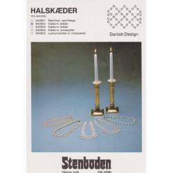 - Brugt - 1984  nr 840604 kæde m. voksperler Stenboden