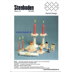 Perleopskrift nr 6  1995 Stenboden - Brugt -