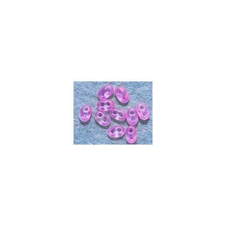 Twinbeads nr 19 neon rosa