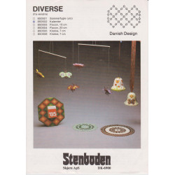 Perleopskrift kalender nr 850502  Stenboden -brugt-