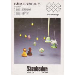 - Brugt - 1985  nr 850903  påskeæg  48 mm Stenboden
