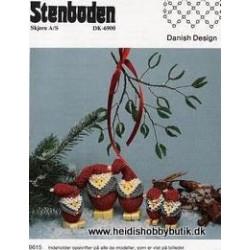 Perleopskrift nr 15 1996 Stenboden - Brugt -