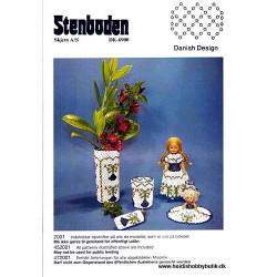 Perleopskrift nr 1  2000 Stenboden - Brugt -