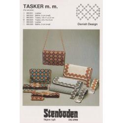 Perleopskrift nr 860305  Stenboden etui til lighter -brugt-