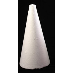 styropor kegle 9,50 cm