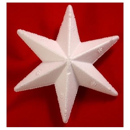 8 cm stjerne med 6 takker