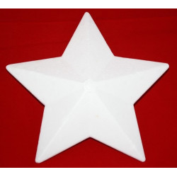 20 cm stjerne med 5 takker