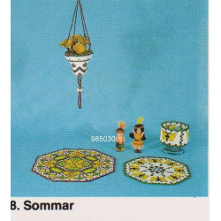 Brugt 1985 Elises nr. 985030 indianer ca 7 cm