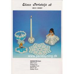 Perlemønster nr 992006 Elises brugt