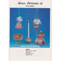 Perlemønster nr 993008 Elises brugt