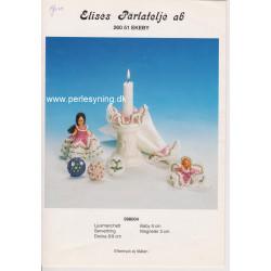 Perlemønster nr 998004  Elises -brugt-