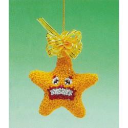 ILA perlemønster stjerne 7 cm