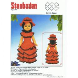 2011 nr 5 Stenbodens opskrift 25 cm dukke