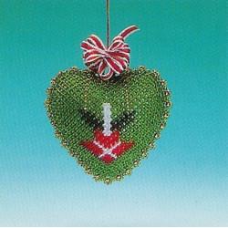 ILA perlemønster 9 cm hjerte